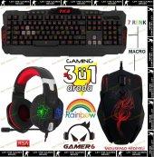 Frisby Gamemax Gamer 6 Multimedia Üçlü Işıklı Gami...