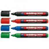 Edding 3000 10 Lu Kırmızı Eco Parmament Markör