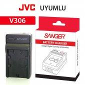 Jvc Dvx707 Dvx400 Bn V408 Araç Şarj Aleti Sanger