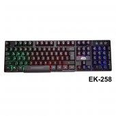 Elba Ek 258 Q Usb Siyah 3 Renk Led Gamer Klavye