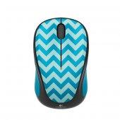 Logitech M238 Play Collection Kablosuz Mouse Tealchevron 910 004520,mavi Byz