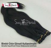 Gerçek Saç Garantili 1gr Boyasız Koyu Kestane Boncuk Kaynak Saç