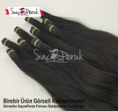 Kaynak Saç 60 cm 0,6 gr Gerçek Boncuk Kaynak Saç-2