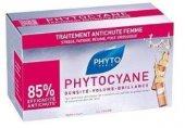 Phyto Phytocyane Kadın Tipi Saç Dökülmesine Karşı Etkili Ampul 12