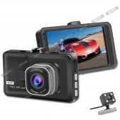 Soloner Sl112 Fullhd 1080 Çift Kamera Araç İçi Güvenlik Kamerası