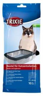 Trixie Kedi Tuvaleti İçin Kedi Kumu Torbası M 37x48cm, 10 Adet