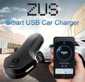 Nonda Zus Akıllı Araç Yer Bulucu Çift USB Girişli Titanyum Uçlu Araç Şarjı-4