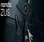 Nonda Zus Akıllı Araç Yer Bulucu Çift USB Girişli Titanyum Uçlu Araç Şarjı-10