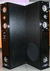 Leader Ld 950 Dijital Radyo 2x500 Watt 1+1 Kule...