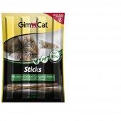 Gimcat Sticks Tahılsız Kuzulu Kedi Çubuk Ödülü 4lü Parça
