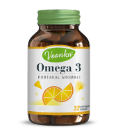 Voonka Omega 3 Portakal Aromalı 32 Kapsül Skt...