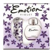 Emotion Violet Edt 50 Ml Kadın + Deodorant Set