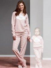 Catherınes 1105 Bayan Polar Pijama Takımı