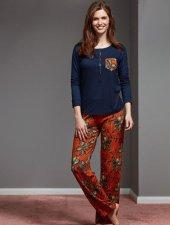 Catherınes 1141 Bayan Pijama Takımı