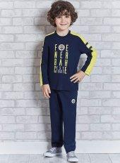 Roly Polly 9309 Lisansı Fenerbahçe Garson Boy Pijama Takımı-2