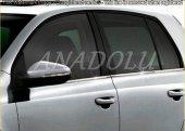 Nissan Note Krom Cam Çıtası 4 Parça 2006 2012