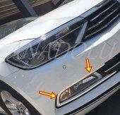 Volkswagen Passat B8 Krom Sis Farı Çerçevesi 2014 Üzeri P.çelik