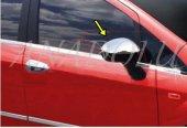 Fiat Punto Krom Ayna Kapağı 2 Parça 2006 Üzeri Paslanmaz Çelik
