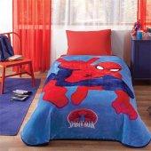 Taç Lisanslı Battaniye Spiderman Ultimate Tek...
