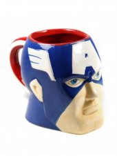 Captan Amerika Mavi Kupa Bardak-2