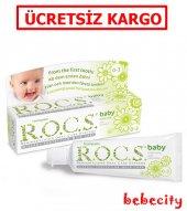Rocs Baby 0 3 Yutulabilir Diş Macunu Papatyaözlü