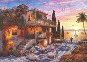 Puzzle 3000 Parça Akdenizde Romantizm Mediterranean