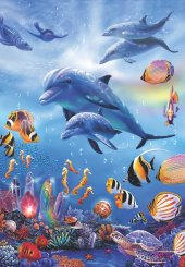 Puzzle 260 Parça / Denizatı Krallığı / Seahorse Kingdom