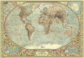Puzzle 2000 Parça / Dünya Haritası / World Map