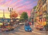 1000 Parça Puzzle Pariste Akşamüstü Seine Sunset (Anatolian)