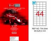 Tanex Tw 2044 Polyester Lazer Yazıcı Etiketi