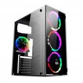 Gametech Gt 003 4x120mm Rainbow Fanlı Gaming...