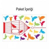 Kuşlar 177x108 cm. Duvar Sticker-2