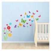 Kelebekler 162x132 Cm.duvar Sticker