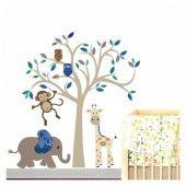 Ağaç 1 88x90 Cm Duvar Sticker