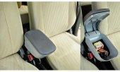 Fiat Grande Punto 2006-2011 Delmesiz Çelik Ayaklı GRİ Sürgülü Kolçak 8014365-2