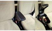 Fiat Albea 2005-2012 Delmesiz Çelik Ayaklı SİYAH Sürgülü Kolçak 8014388-2