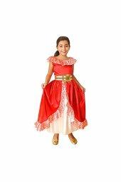 Disney Elena Çocuk Kostüm 10 12 Yaş 1 Adet