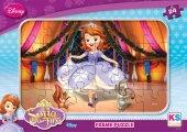 Ks games Prenses Sofia 24 Parça Frame Çocuk Puzzle