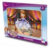 Ks games Prenses Sofia 24 Parça Frame Çocuk Puzzle-2