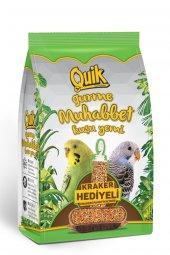 Quik Gurme Muhabbet Kuşu Yemi 500 Gr Kraker Hediyeli