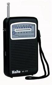 Kaito Ka210 Pocket Noaa Weather Radio, Black