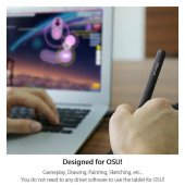 XP-Pen G430S OSU Tablet Ultrathin Graphic Tablet 4 x 3 inch-2
