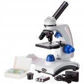 Amscope M162c 2l Pb10 40x 1000x Dual Light Glass L...