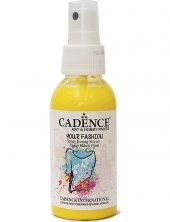 Cadence Sprey Kumaş Boyası 1101 Limon Sarısı 100ml