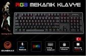 Gamemax Gm X560qu İngilizce Blue Switch Rgb Mekanik Gaming Oyuncu Klavyesi