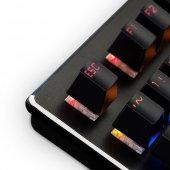 GAMEMAX GM-X560QU RGB Işıklı Gerçek Mekanik Gaming Oyuncu Klavyesi Blue Switch -4