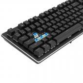 GAMEMAX GM-X560QU RGB Işıklı Gerçek Mekanik Gaming Oyuncu Klavyesi Blue Switch -5