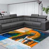 Rugrita Abstract Color Desenli Halı
