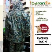 Kışlık Avcı Takımı Baronavda Orman Desenli