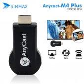 Anycast M4 Plus Hdmi Kablosuz Görüntü Aktarım Arac...